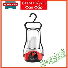 Đèn dự phòng mất điện Sunhouse SHE-6036LA, đèn sạc tích điện đa năng (cỡ  lớn) - BẢO HÀNH 1 ĐỔI 1