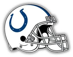 Collectibles Indianapolis Colts Nfl Football Helmet Logo Car Bumper Sticker Decal 5 X 4 Decals Stickers