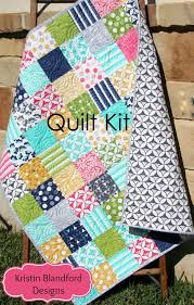 last ones modern quilt kit moda fabrics
