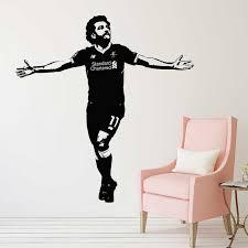 Mohamed Salah Liverpool Football Player Vinyl Wall Art Decal