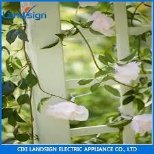 string garden lights with solar panel