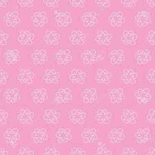 Resumen De Patrones Sin Fisuras Florales Sobre Fondo Rosa Para