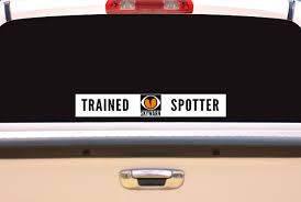 7 X 10 Reflective Skywarn Trained Spotter Decal Skywarn Gear Storm Spotter Chaser Shirts Ba Weather Pro Shop
