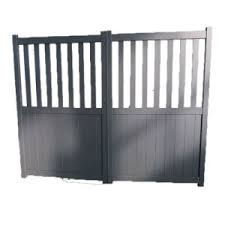 China Metal Fence Panel Aluminum Slat Fence Gate Driveway Door Laser Cutting Privacy Screen Gate China Driveway Door Walkway Gate