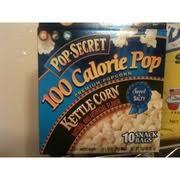 pop secret 100 calorie pop kettle corn