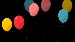 مؤثرات فيديو للمونتاج بالونات متحركه عاليه الدقه Youtube