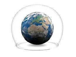 inside glass bowl stock ilration