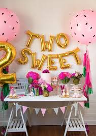 Two Sweet Balloon Banner Two Tti Fruity Theme Decor Etsy Girl 2nd Birthday 2nd Birthday Party Themes Birthday Decorations