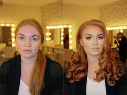 after photos that shows the power of makeup