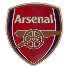 Amazon Com Arsenal F C Large Crest Sticker Official Licensed Product Sports Outdoors