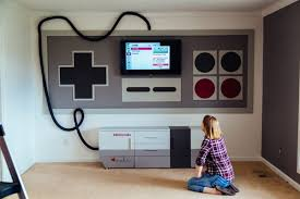 Nintendo Themed Home Theater A Mom Made For Her Kids Photos Business Insider