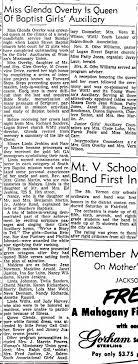 Karen and Linda Jenkins Baptist Girls Auxiliary 30 April 1957 -  Newspapers.com