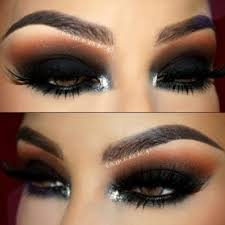 hot makeup looks for brown eyes