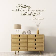 Theodore Roosevelt Wall Decal Quote