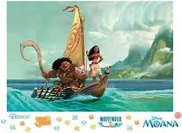 Amazon Com Fathead Moana Mural Huge Officially Licensed Disney Removable Graphic Wall Decal Home Kitchen