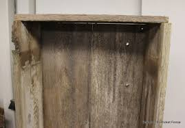 Beyond The Picket Fence Project Challenge Reclaimed Wood Bookshelf Diy