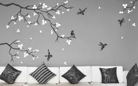Wall Stickers For Bedrooms Realistic Natural Tree Branch With Etsy
