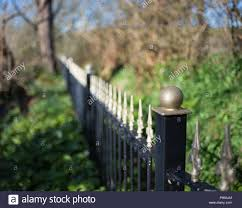 Iron Fence Gold High Resolution Stock Photography And Images Alamy