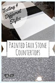 spray painted resin countertops