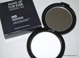 makeup forever hd powder loose or