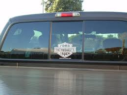 Let S See Them Rear Window Decals Page 7 Ford Truck Enthusiasts Forums