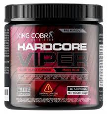 viper pre workout berry