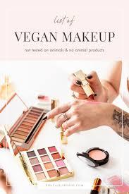 ultimate list of vegan makeup brands in