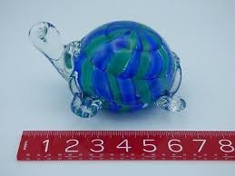 sea turtle paper weight 3 5 tall 7