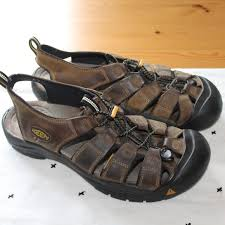 keen shoes mens leather sandals