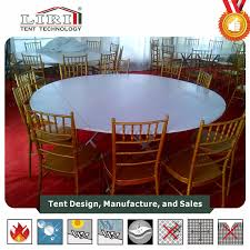 folding round table for banquet event