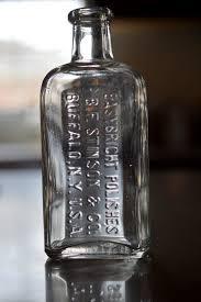antique embossed bottle easybright