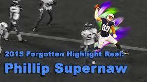 2015 Forgotten Highlight Reel Series: TE Phillip Supernaw - YouTube