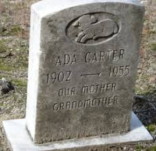 Ada Carter (1902-1955) - Find A Grave Memorial