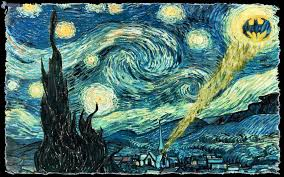 batman van gogh wallpaper 42 images