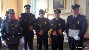 great barrington police presents medals