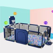 Baby Playground With Basketball Basket Baby Playpen For Children Rectangle Baby Fence Parque Bebe Children S Playpen For A Child Baby Playpens Aliexpress