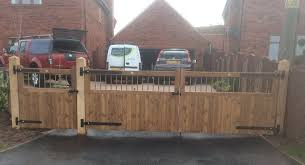 Double Wooden Gates Many Designs For Sale Garden Gates Direct