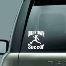 Lordstown Girls Soccer Car Decal Shirt Jester