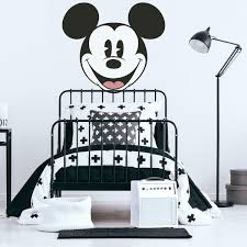 Mickey Mouse Classic Head Peel And Stick Giant Wall Decals