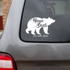 Mama Bear Decal Proverbs 31 28 Car Decal Tumbler Decal Etsy
