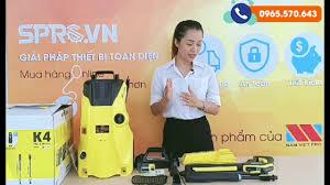 SPRO.VN - Giới thiệu máy rửa xe gia đình karcher k4 Full control của Đức -  YouTube