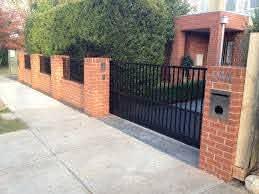 Brick Fences Mako Fencing Gates