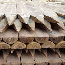 Half Round Stakes Fence Supplies Buy Online Uk Delivery