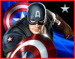 Kit Imprimible Capitan America Disena Tarjetas Invitaciones