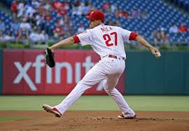 PHILLIES' AARON NOLA: 6 INNINGS, 2 HOMERS, 6 STRIKEOUTS | Fast ...