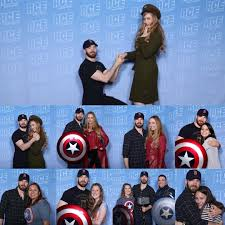 """Chris Evans on Instagram: """"Day 2! Thanks to all the fans who send your  photos with Chris from @acecomiccon with us! 2-7. ? #ACEComicCon…"""