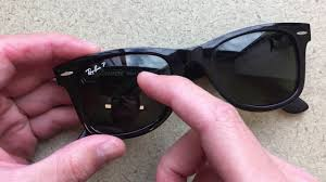 How To Remove The Ray Ban Logo With A Penny Youtube