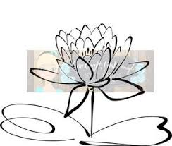 Water Lily Flower Svg Dxf Png Pdf Zip File Commercial Use Svg Digital Vinyl Supply Shop