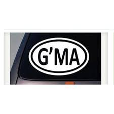 Oval G Ma Sticker Decal Gma Grandma Grandparents Car Vinyl Family Mom Fun Kids 6 C772 Walmart Com Walmart Com