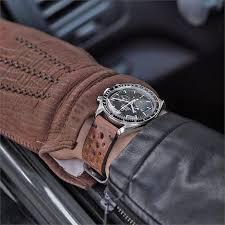 20mm oak classic vintage racing leather